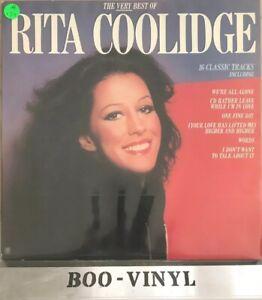 RITA-COOLIDGE-Very-Best-Of-LP-Record-Ex-Con