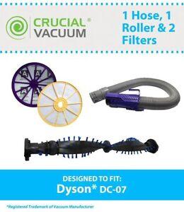 Replacement-Dyson-DC07-Pre-Post-Filters-Purple-Hose-Clutch-Roller-Part-904125