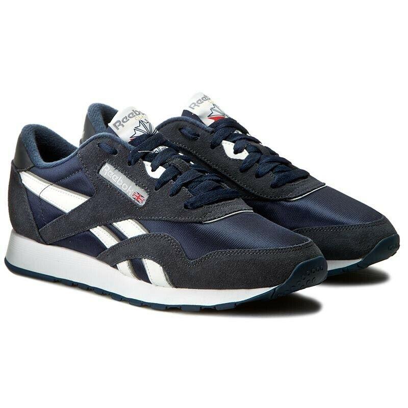 Reebok Classic nailon 39749 calcetines cortos zapatillas calzado deportivo Navy hit Top