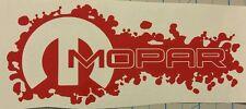 "7"" Mopar decals stickers charger challenger dodge srt red buy 2get 1free"