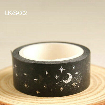 15mmX5m Gold Foil Printing For Christmas Set Japanese Washi Paper Tape CNCA