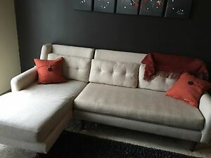 Image Is Loading Crosby Sectional Sofa From West Elm