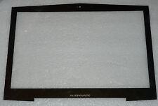BRAND NEW GENUINE DELL ALIENWARE M17X R1 R2 FRONT LCD BEZEL / GLASS BLACK