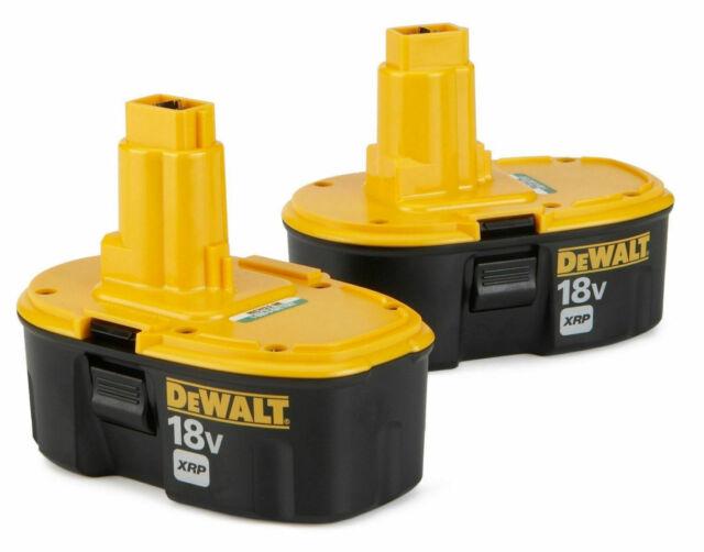 DEWALT DC9096-2 18V NiCd XRP Battery - Combo Pack