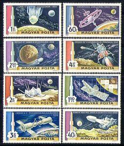 UNGHERIA-1969-spazio-razzi-atterraggio-sulla-luna-Apollo-Luna-8v-Set-n30078