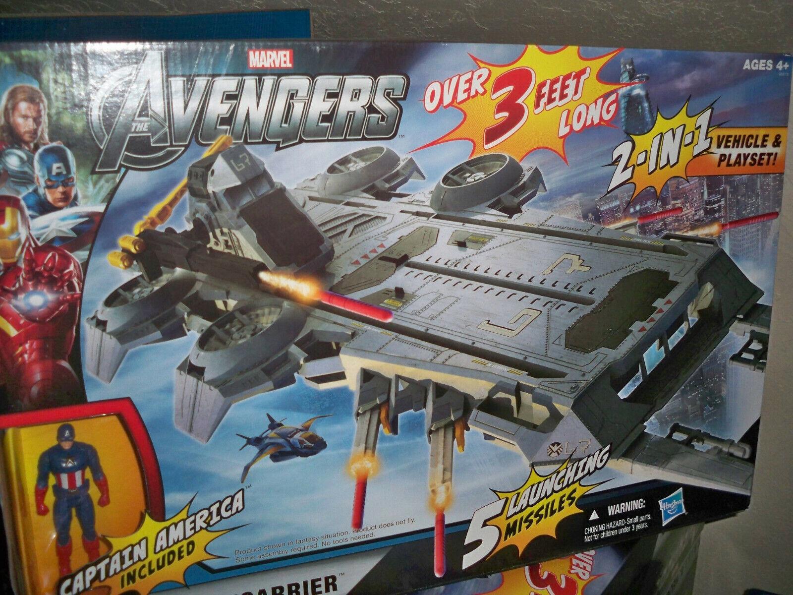 NUOVO 2011 Hasbro Marvel Avengers Shield Heliautorier azione cifra Veicolo SIGILLATO