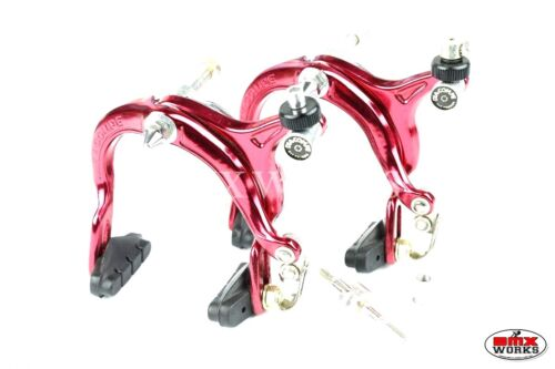 Old School BMX Freestyle Genuine Dia-Compe MX883 Red Brake Calipers Pairs