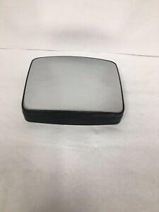 Left Driver Lower Convex Tow Mirror Glass w// Holder Heated OE   P//U