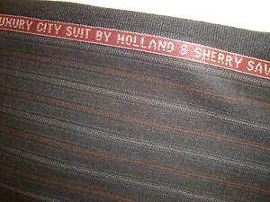 5-16-yd-HOLLAND-SHERRY-WOOL-Luxury-Fine-Intercity-FABRIC-9-5-oz-SUITING-186-034-BTP