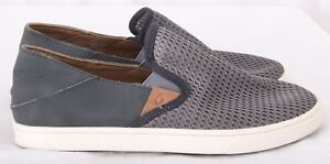 OluKai-Pehuea-Athletic-Casual-Mesh-Slip-On-Sneakers-Loafers-Women-039-s-US-7