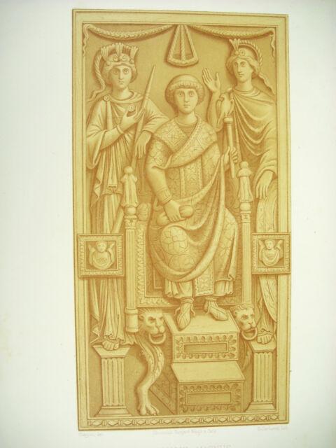 The Consul Magnus Empire Of Byzantium Life Century Kellerhove Litho Xixth 1858