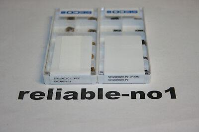 * LOT OF SECO   SPGX 0602-C1 T400D+SCGX060204-P2  DP3000 20pcs