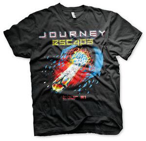 Journey-Escape-Tour-1981-Rock-Band-Musik-Maenner-Men-T-Shirt