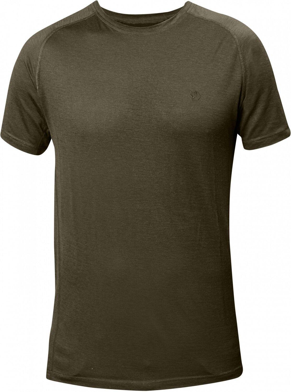 Fjällräven Abisko Trail Herren T-Shirt - Dark Olive