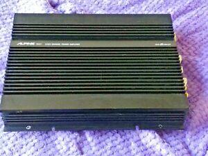 Vintage-Alpine-3527-4-3-2-channel-power-amplifier-w-manual-Nice