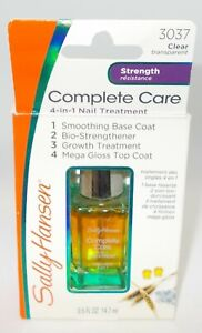 Sally Hansen Soin Complet 4 IN 1 Traitement Ongles Transparent 3037 Nib