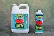 Fox Farm Grow Big Quart qt ORGANIC liquid foxfarm nutrients hydroponics natural