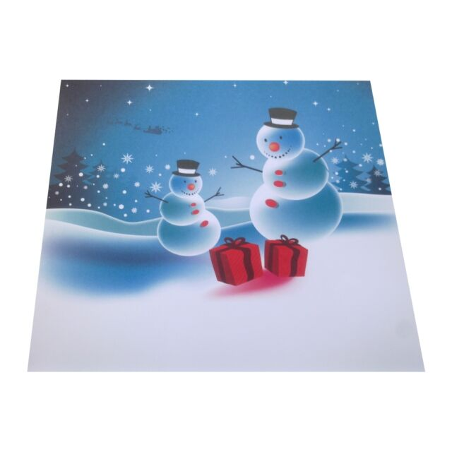 Motivpapier Briefpapier Weihnachten Wichtel Schneemann 20 Blatt A4 Winter Sterne