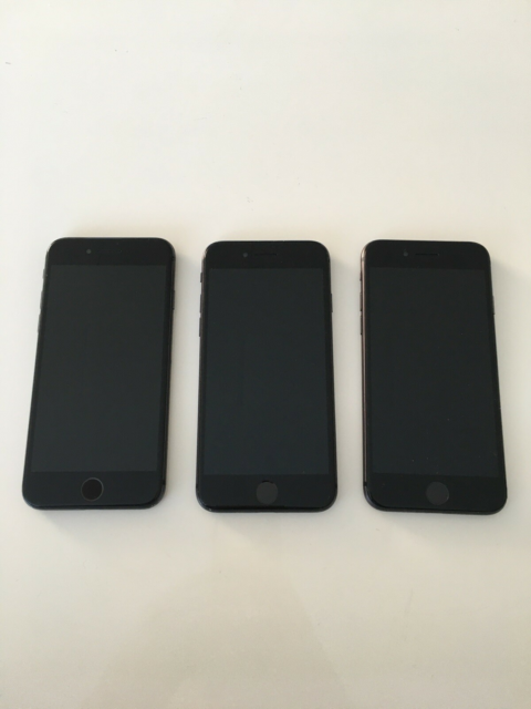 iPhone 8, 64 GB, sort, 3 stk iPhone 8 64 GB sælges i sort…