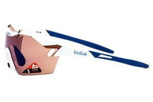 Bolle-6th-Sense-Sunglasses-Cycling-White-Blue-Rose-Blue-11843-Authorized-Dealer