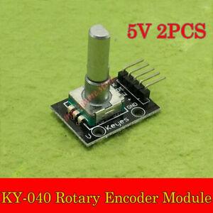 Details about 2PCS KY-040 Rotary Encoder Module Brick Sensor Development  For CA Arduino