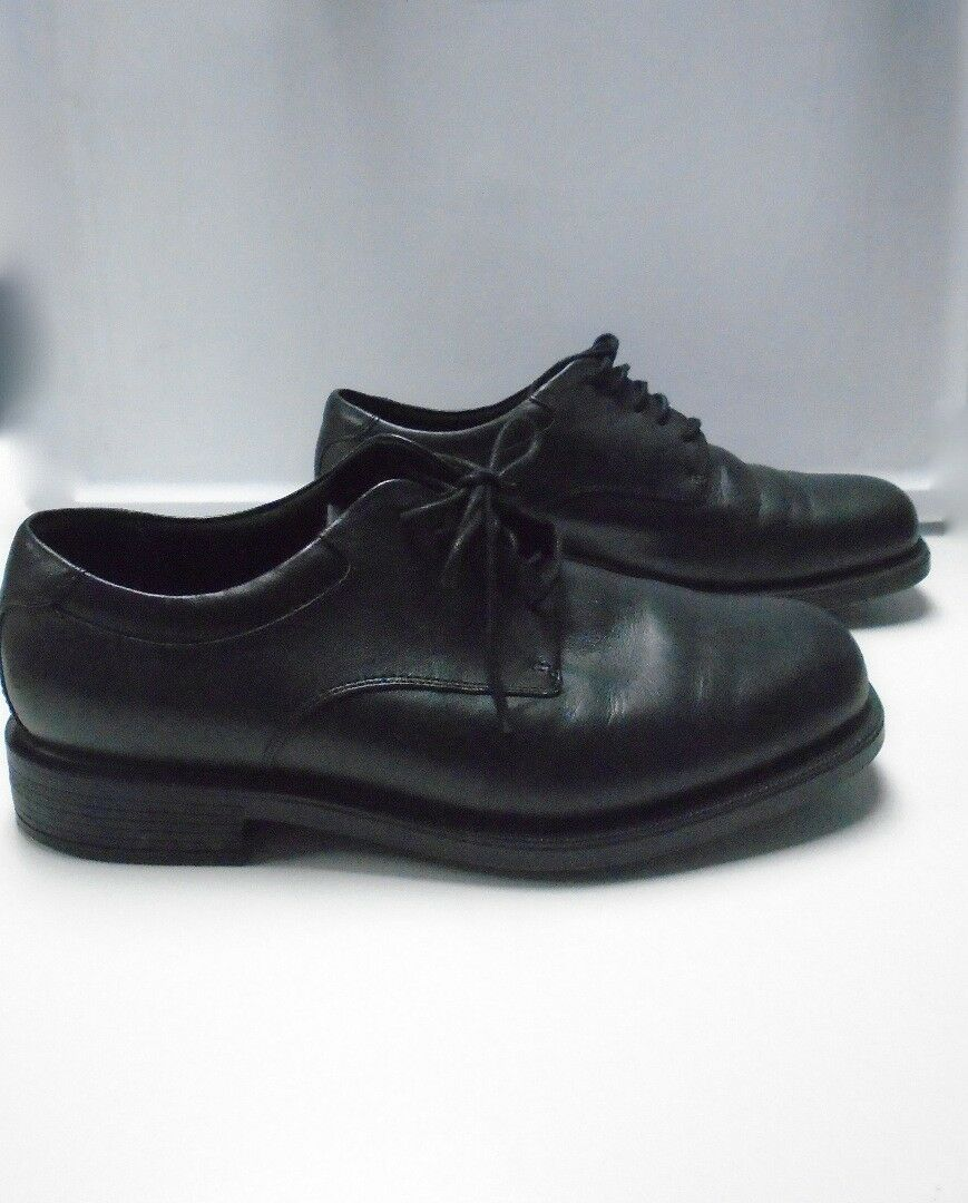 ROCKPORT Black Solid Leather Lace Up Men's Oxford Dress shoes Size 10.5 B3485