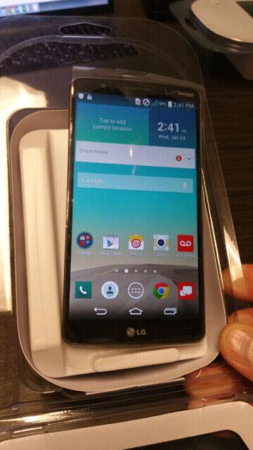 LG G3  - 32GB - Metallic Gray (Unlocked) Smartphone.Rogers,Fido,AT&T,Bell