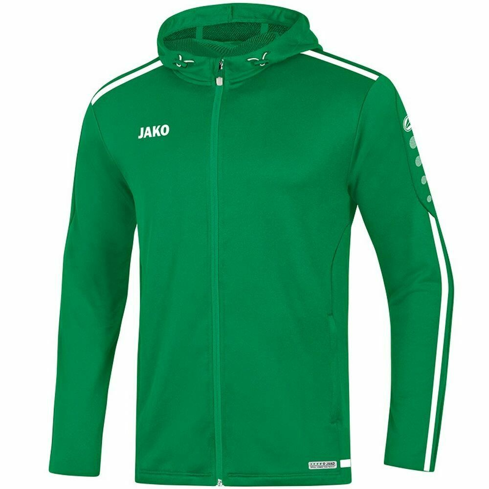 Jako sport Training Footbtutti Casual uomini Hooded Full Zip Jacket Tracksuit Top