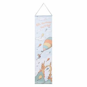 Trend Lab Dr. Seuss Oh The Places Youll Go Canvas Growth Chart,