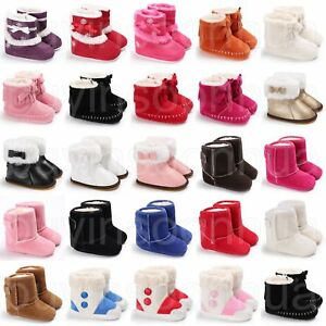 Newborn-Baby-Infant-Toddler-Kid-Boy-Girl-Snow-Boots-Crib-Shoes-Prewalker-Booties