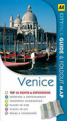 """""""AS NEW"""" AA Publishing, Venice (AA CityPack Guides), Book"""