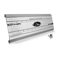 Lanzar 5000 Watt 4 Channel Bridgeable Car Audio Stereo Amplifier With Bass Knob on Sale