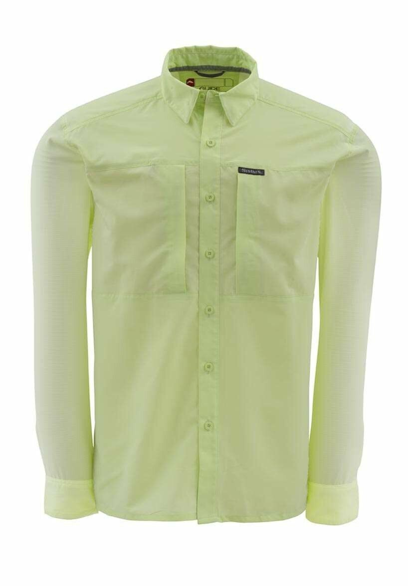 Simms ULTRALIGHT Long Sleeve Shirt  Island Green NEW   Closeout Size XL  the lowest price