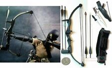 1:6 Scale Action Figure RAMBO STALLONE BOW ARROW KNIFE HOYT ARCHERY BLACK BOW_B
