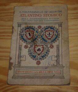 Atlantino-storico-della-Indipendenza-d-039-Italia-cartine-traforate-sovrapponibili