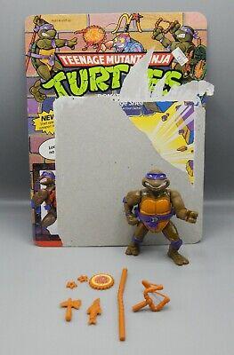 1990 Playmates Teenage Mutant Ninja Turtles Filecard-Storage Shell Donatello