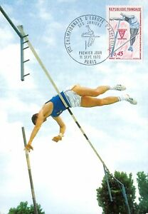 France-Championnats-d-039-europe-d-039-athletisme-1970-carte-premier-jour