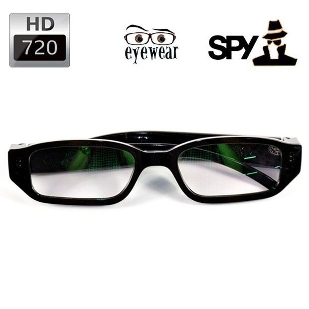 Smart Home & Surveillance Other Surveillance Parts & Accessories Spy Camera Glasses HD 720P Hidden Video DVR Surveillance Sports Recorder SALE