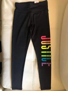 Justice Girls Full Length Legging Pure Black