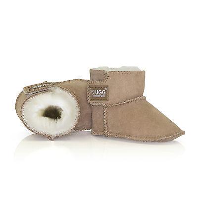 UGG BOOTS - Kids Bootie Cradle - Baby Erin Infant, Australian Sheepskin, No Sole