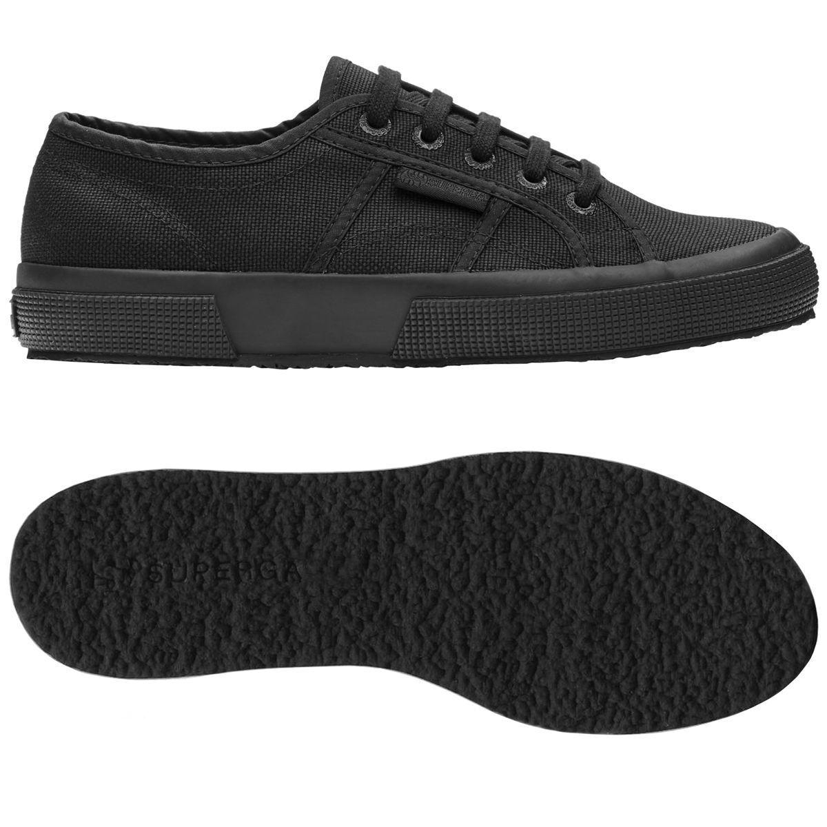 Chaussures Superga Homme - 2750 Cotu Classique Toile - Total Noir - 2750