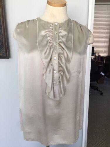 $475.00 DOLCE & GABBANA Duchess Charmuse Silk Sat… - image 1