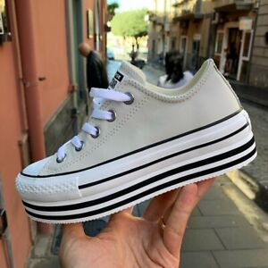 2converse all star donna alte nere
