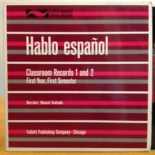 EXC++ HABLO ESPANOL first year, first semester MANUEL ANDRADE SPANISH 2LP SET