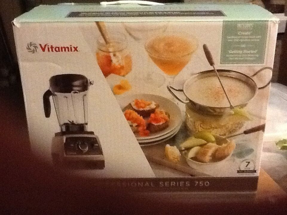 Vitamix Professional Series 750 (Stainless steel)  NEW (other)