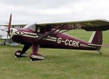 """Model Airplane Plans (RC): Luscombe Silvaire Scale 53½""""ws for .15-.20 Engines"""