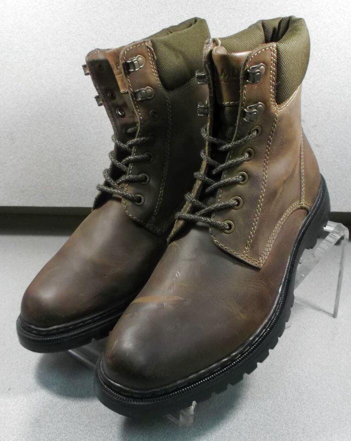 5940952 PFBT40 Men's shoes Size 9 M Brown Leather Boots Johnston & Murphy