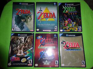 EMPTY CASES!  Legend of Zelda: Four Swords Twilight Wind Waker Nintendo GameCube