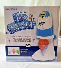 West Bend Electric Ice Shaver Sit12023 With Manual