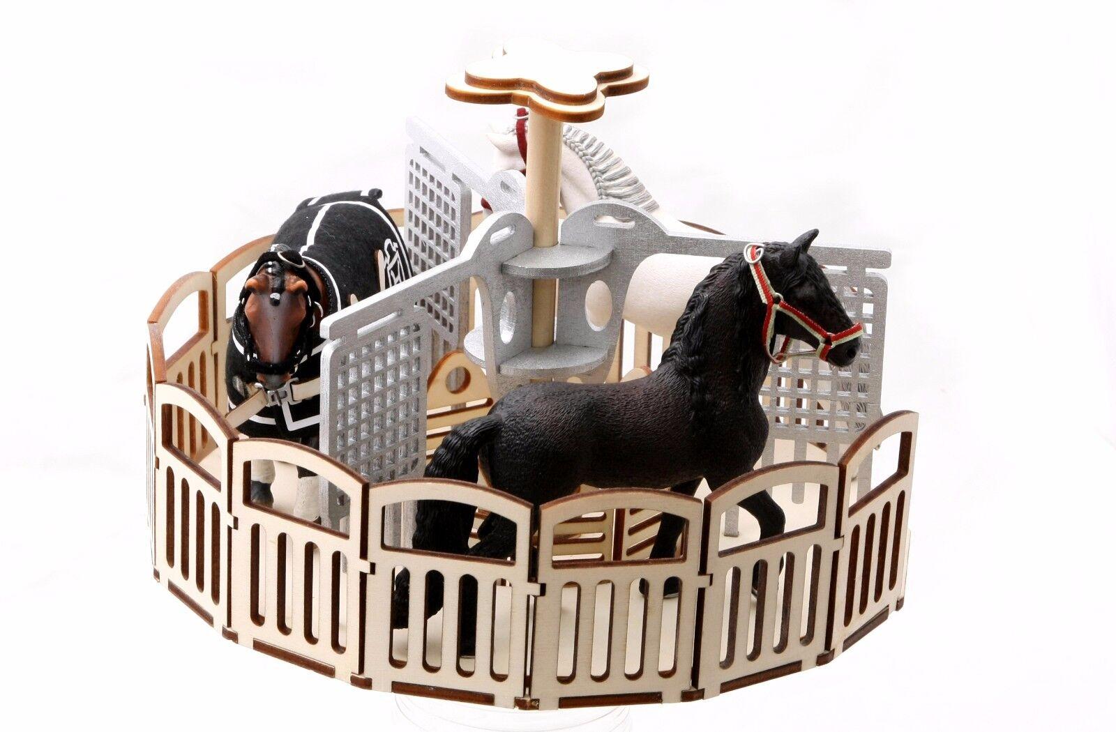 Führanlage passend für Schleich Schleichpferde Horse Farmlife Pferdestall